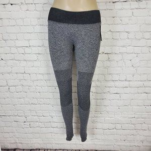 Nux Leggings Gray Black M NEW